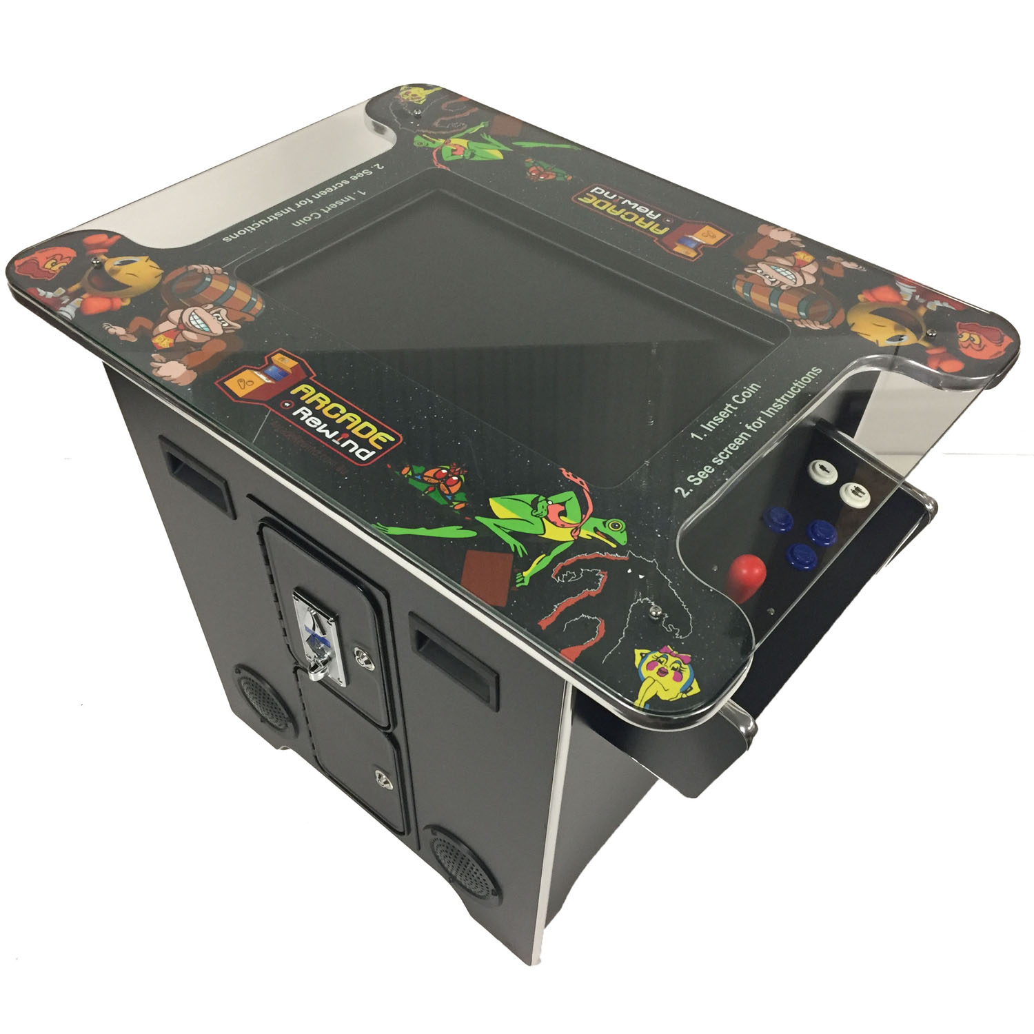 Arcade Rewind 60 Game Cocktail Arcade Machine For Sale