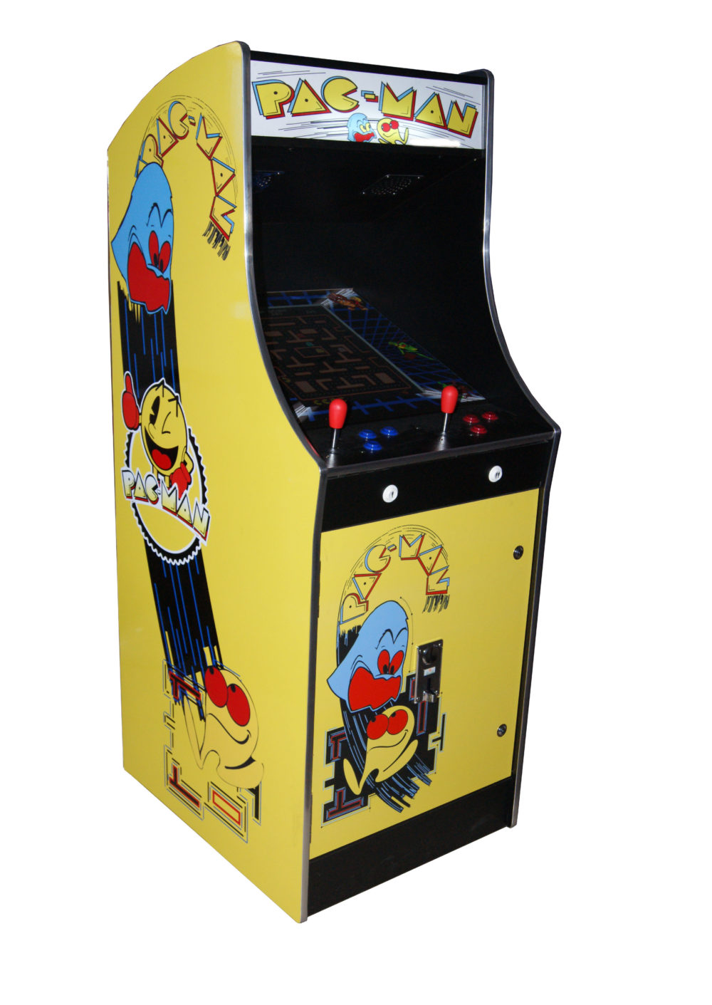 arcade rewind 60 in 1 upright arcade machine pac man. Black Bedroom Furniture Sets. Home Design Ideas