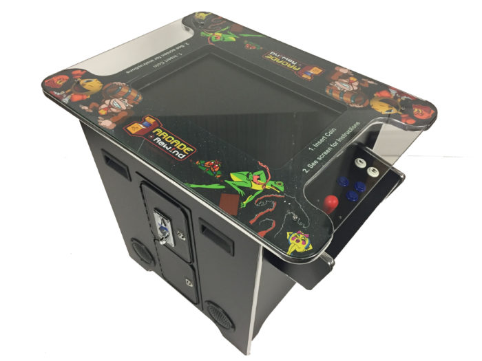 Arcade Rewind 412 in 1 Cocktail Arcade Machine for Sale