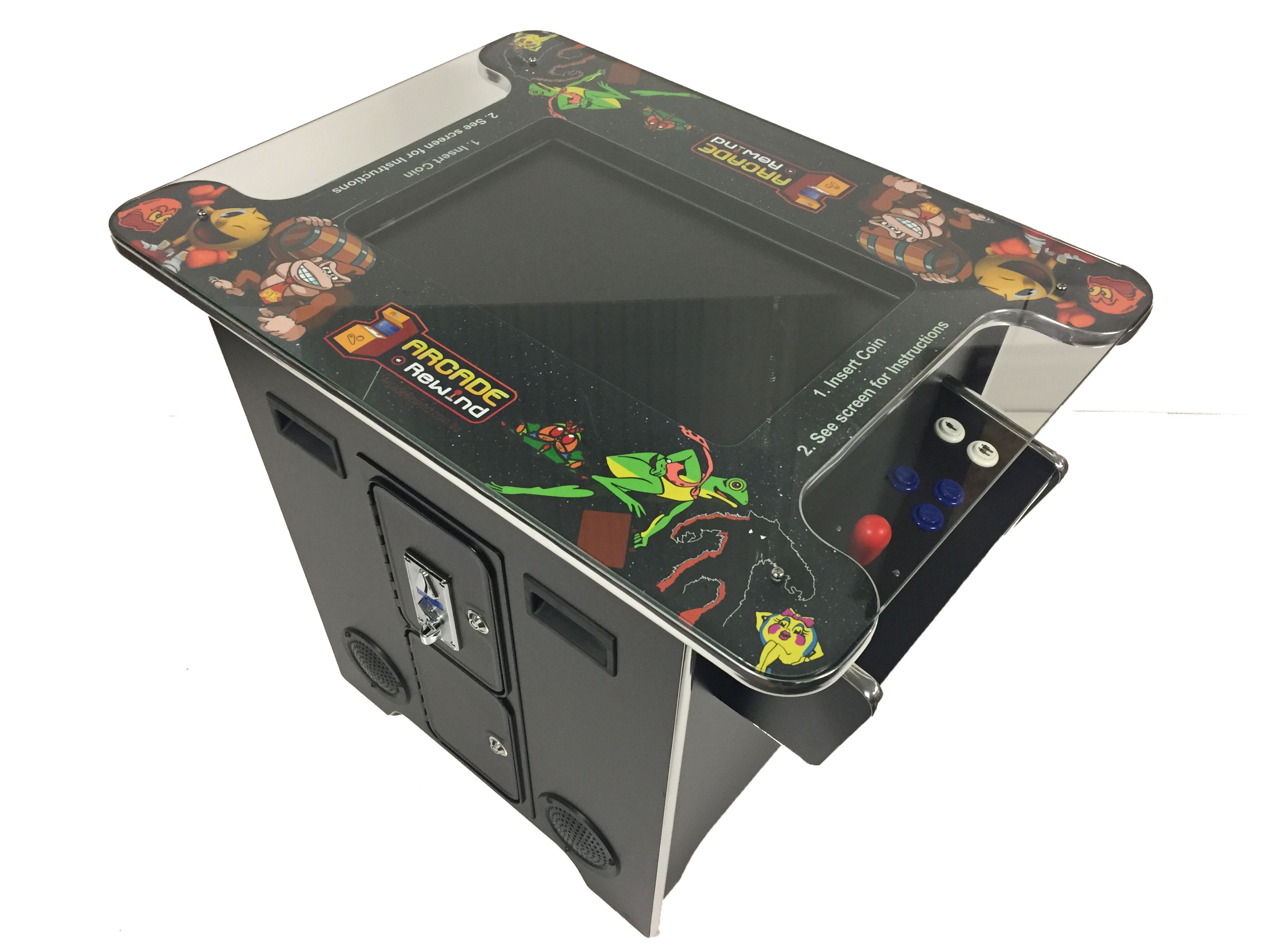Arcade Rewind 412 Game Cocktail Arcade Machine for Sale