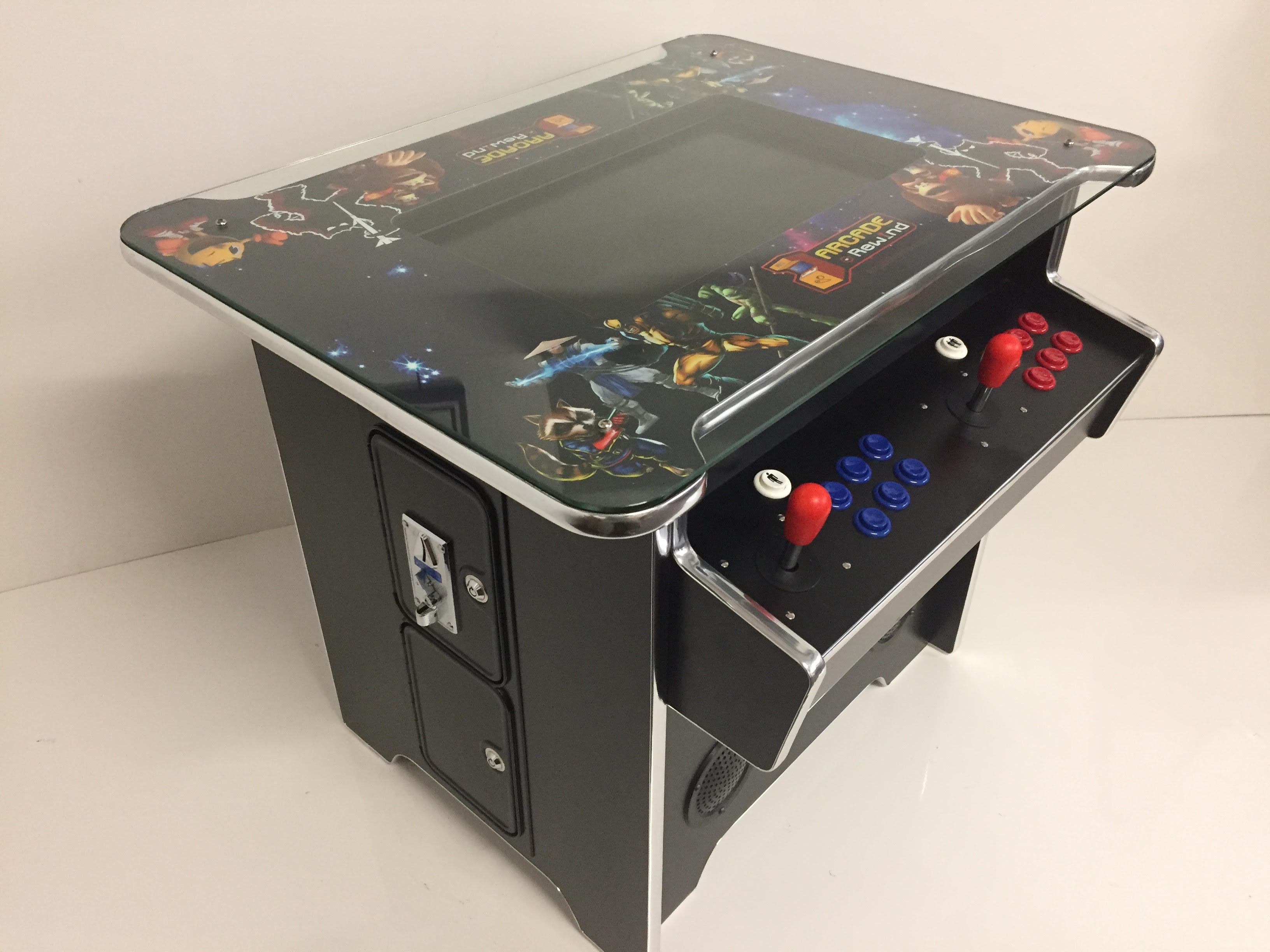 Arcade Rewind 2100 Game Cocktail Arcade Machine for sale Perth