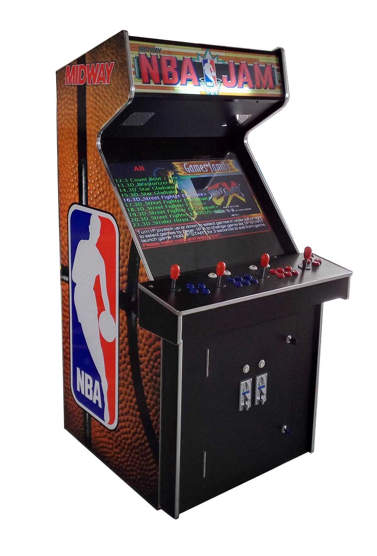 arcade machine with