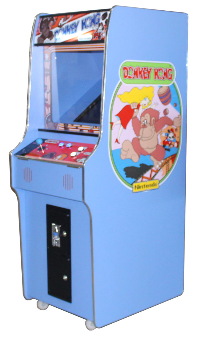 Arcade Rewind 60 in 1 Upright Arcade Machine Donkey Kong for sale