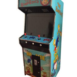 Arcade Rewind Simpsons 2100 in 1 Upright Arcade Machine
