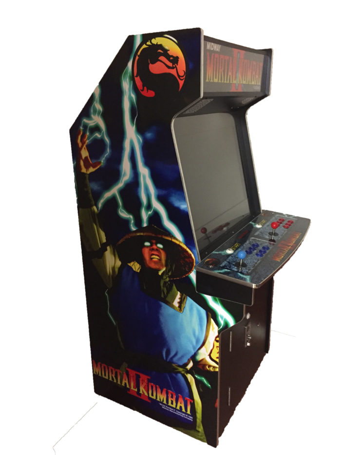 Upright Arcade Machine Mortal Kombat 2 for sale