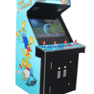 Arcade Rewind 3500 in 1 Upright Arcade Machine With Simpsons