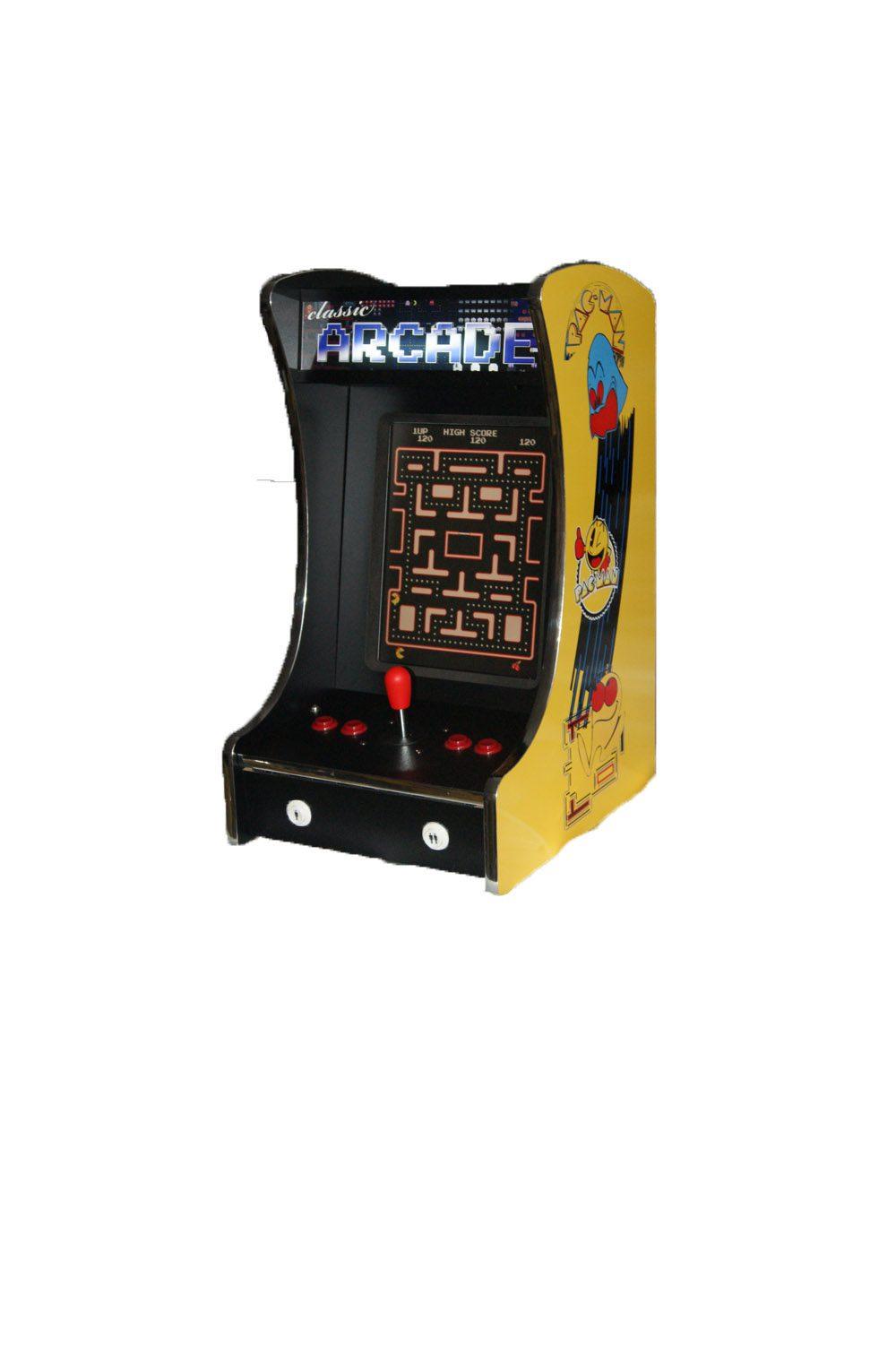 Arcade Rewind 60 in 1 Bar Top Arcade Machine Pac-Man for sale