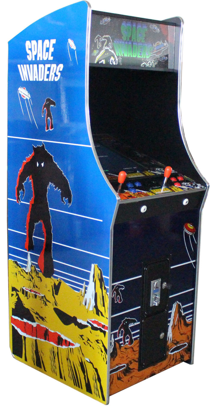Arcade Rewind 60 in 1 Upright Arcade Machine Space Invaders for sale