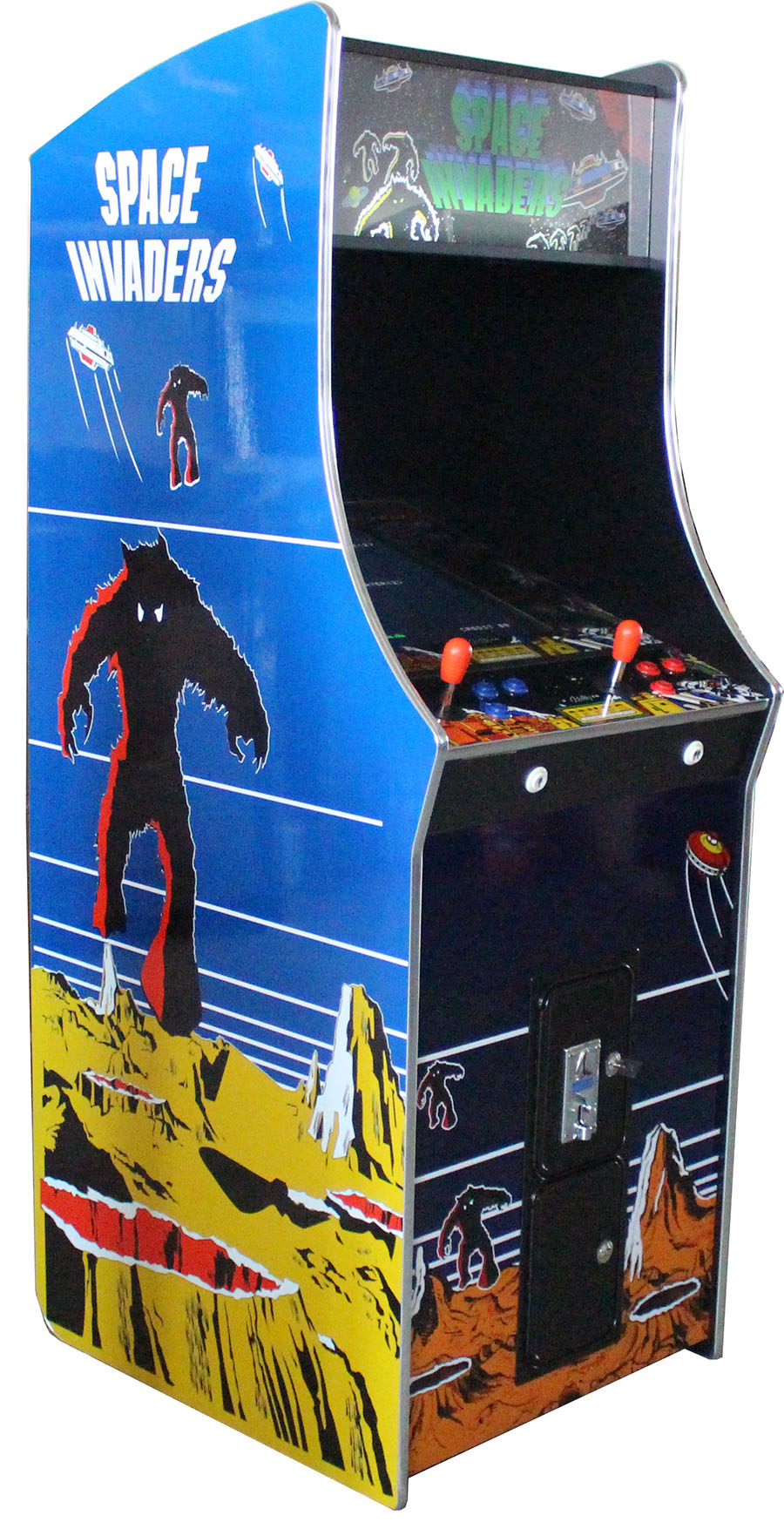 Arcade Rewind 60 Game Upright Arcade Machine Space Invaders for sale