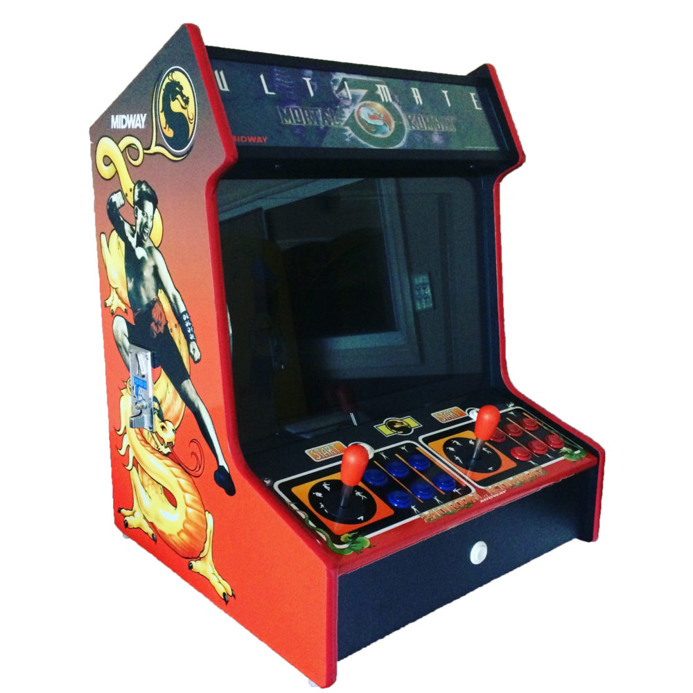 Arcade Rewind 2100 In 1 Bar Top Arcade Machine Mortal Kombat