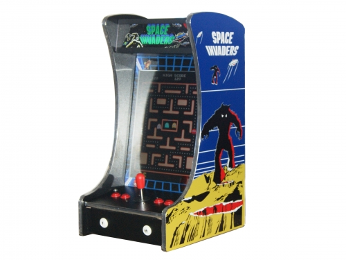 Arcade Rewind 60 Game Bar Top Arcade Machine Space Invaders