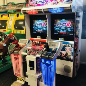 USED Namco Time Crisis 4 Twin Arcade Shooting Machine