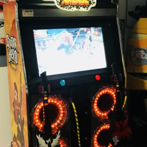 USED Raw Thrills Guitar Hero Twin Music Arcade Machine