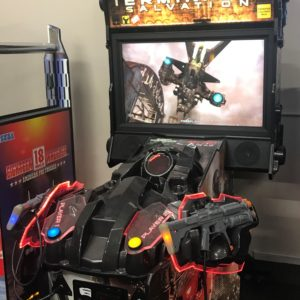 Used Terminator Salvation Arcade