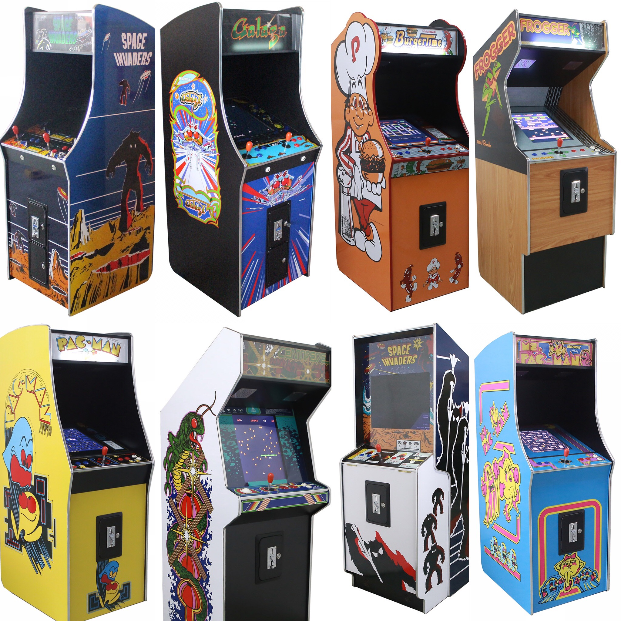 Arcade Rewind Range Of 19 Inch Screen 60 Game Upright