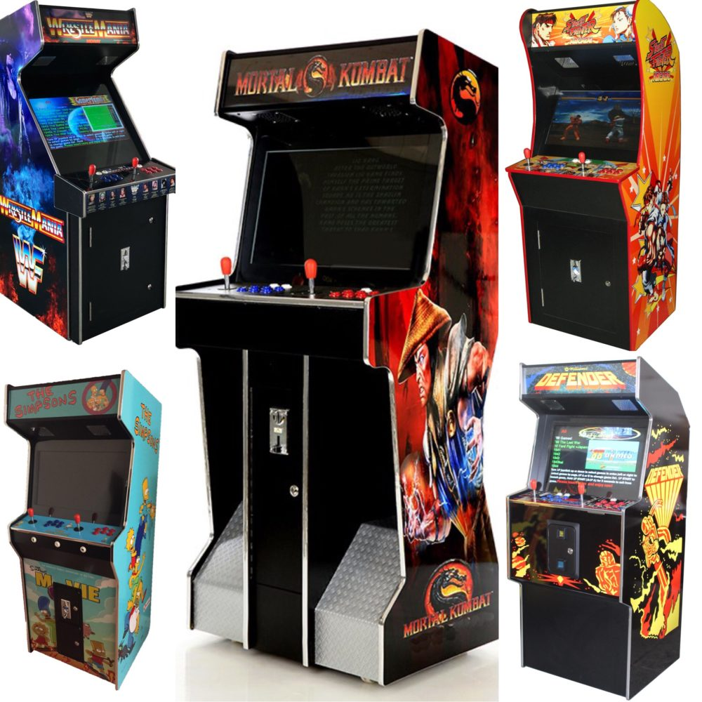 Arcade Rewind 3500 Game Upright Arcade Machines 26 inch Screen