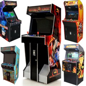 Arcade Rewind Range of 26 inch Screen 3500 Game Upright Arcade Machines