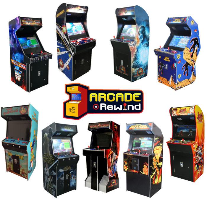 Arcade Rewind 3500 Game Upright Arcade Machines 26 inch Screen