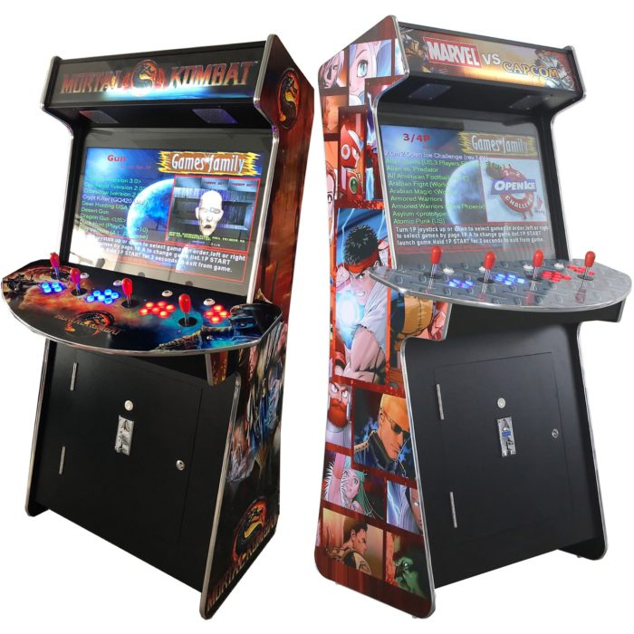 Arcade Rewind 3500 Game Slim Upright Arcade Machine 4 Player