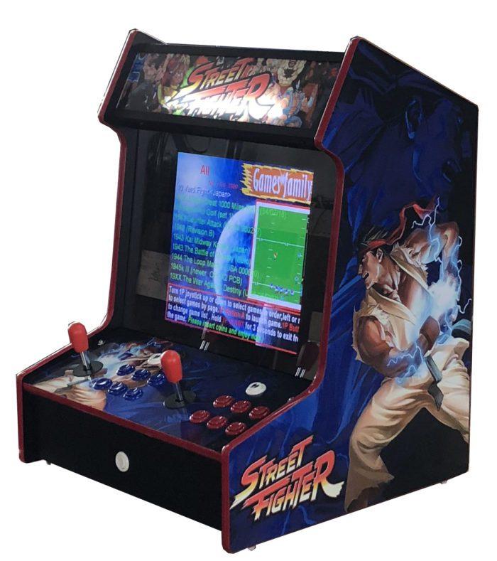 Arcade Rewind 3500 Game Bar Top Arcade Machine Street Fighter