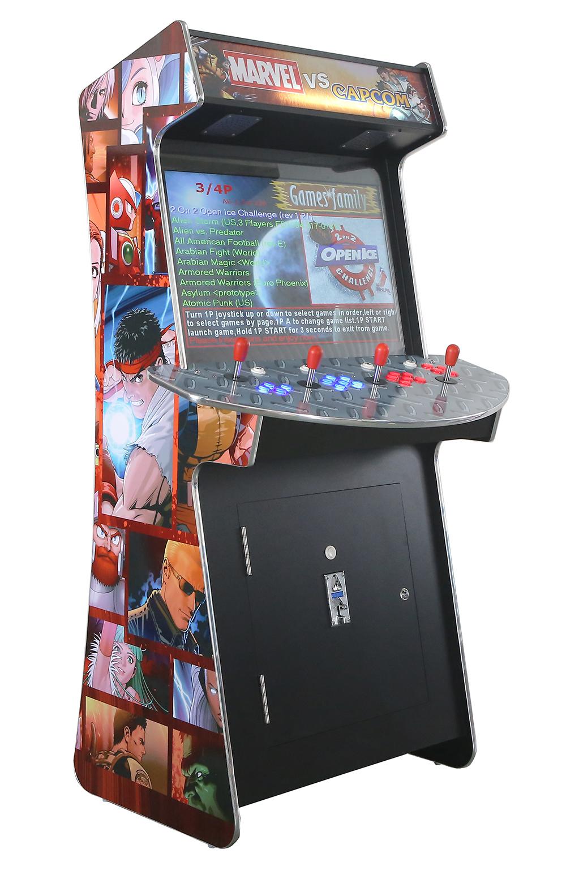 Arcade Rewind Slim 3500 Game Upright Arcade Machine 4 Player