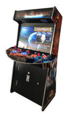 Arcade Rewind Slim 3500 Game Upright Arcade Machine 4 Player Mortal Kombat