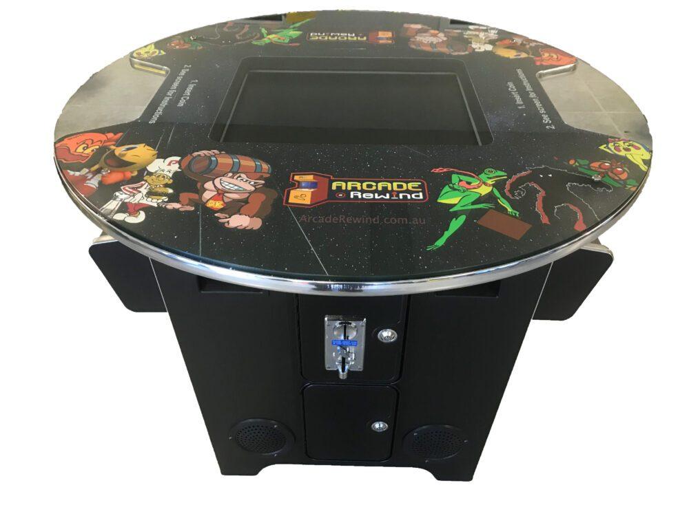 Arcade Rewind 60 Game Round Cocktail Arcade Machine