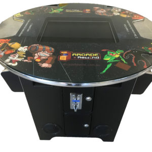 Arcade Rewind 60 Game Round Cocktail Arcade Machine