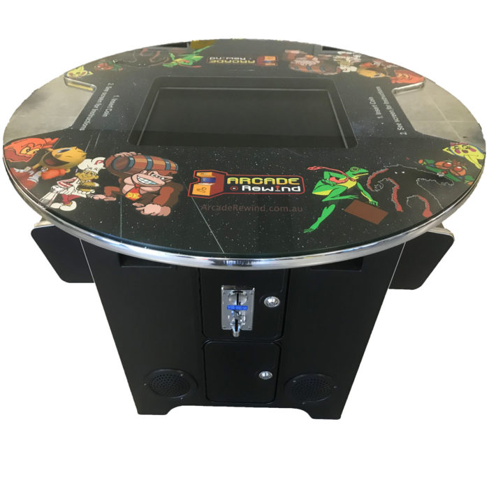 Round Cocktail Arcade Machine