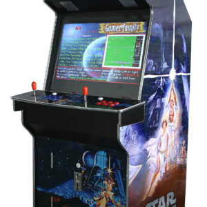 Arcade Rewind 3500 Game Upright Arcade Machine Star Wars