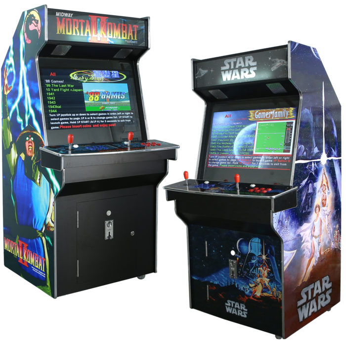Upright Arcade Machines 32 inch