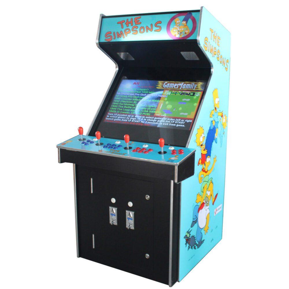 Arcade Rewind 3500 Game Upright Arcade Machine With Simpsons