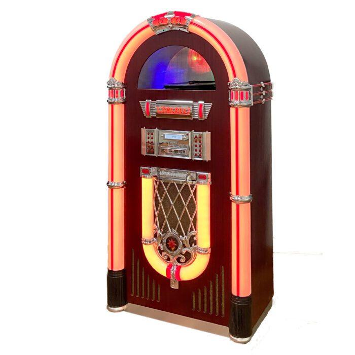 Full Size Vinyl CD Jukebox Classic 7-Color Changing LED for sale Sydney Melbourne